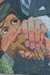 Kennedy memorial mosaics