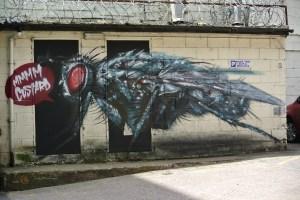 Graffiti at the Custard Factory