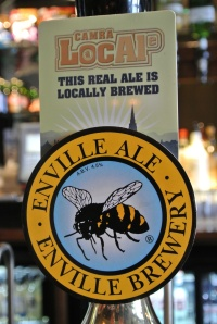 Enville Ale also brewed locally - i preferred this one.