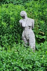 Christina Collins memorial statue, near the bridge,