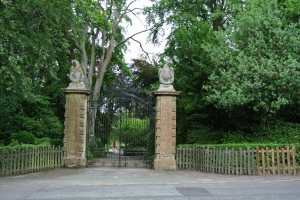 The gates to the Estate