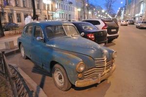 Russia - beats walking I guess.