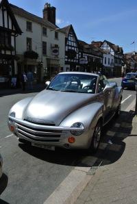Stratford upon Avon - a convertible something.