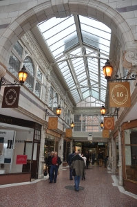 Inside the shopping centre