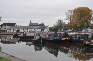 The Chandlery and moorings.