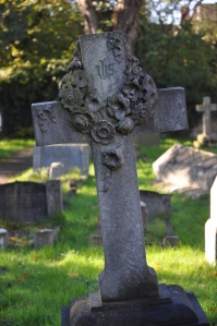 Another headstone.