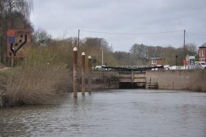 The river locks