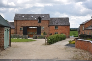Fantastic barn conversion