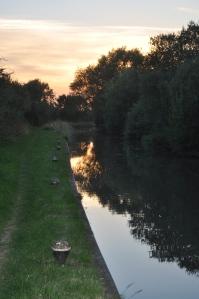 Same sunset walk