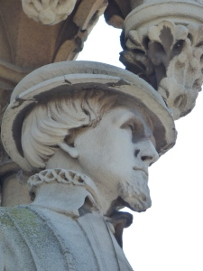 Detail from the clock tower