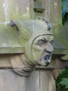 All the grotesques were in excellent condition - considering the age.