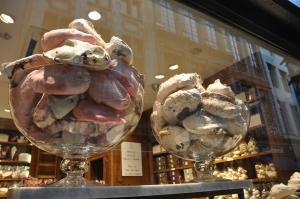 Big meringues.