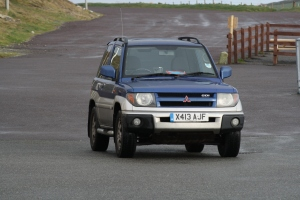 Our little 4x4.   Its a Mitsubishi Shogun Pinin.