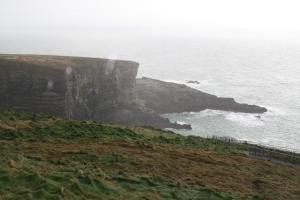 Mizzen Head.   The weather wasn't good.