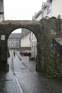 Part of the city wall
