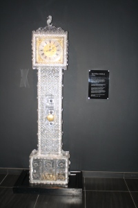 The priceless Crystal clock.
