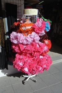 Flamingo dancers dress-ups.