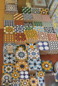 Tiles for sale.