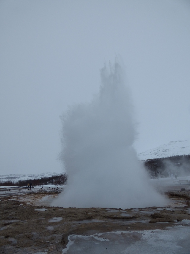 What was once thought to be the highest geyser in the world, till they found Old Faithful.